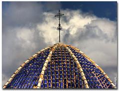 Sant Jaume, Benidorm ( alfanhu) Tags: spain cross alicante cruz dome creu hdr benidorm nuvols costablanca alacant cpula santjaume qdd