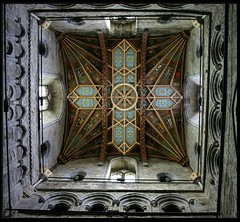St. Davids Cathedral - Wales (yorkiemimi (off again for a while)) Tags: wales cathedral ceiling portfolio mywinners p1f1 aplusphoto