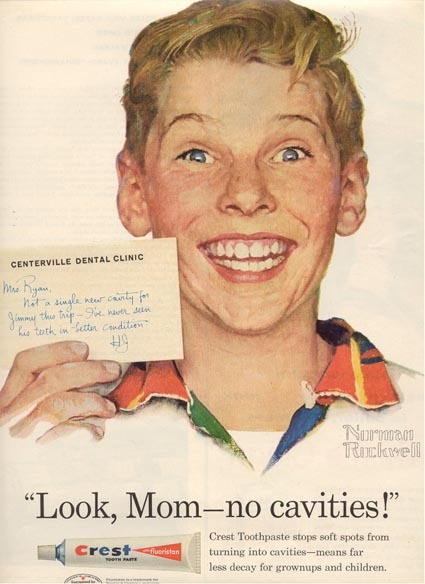 Look, Mom -- no cavities!