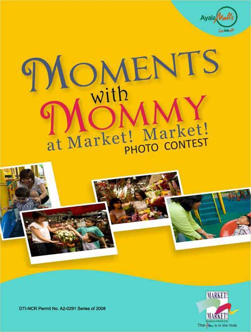 Moments with Mommy at the Market! Market! Photo Contest