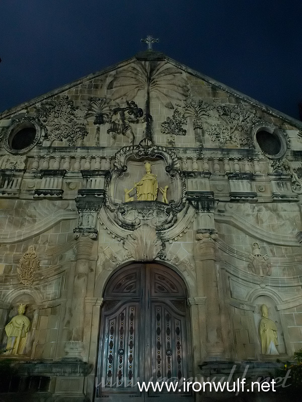 Miagao Night Facade