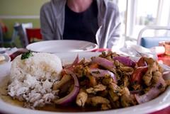 delicious peruvian dish
