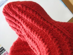 Baby Cable Rib Socks