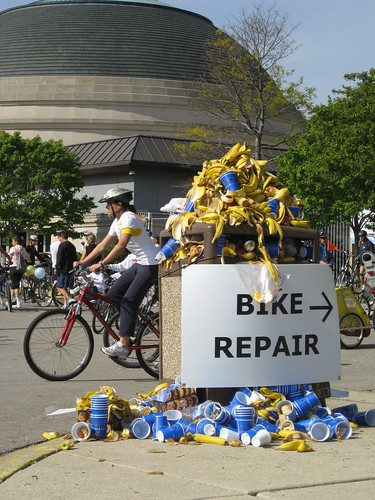 Banana bike repair