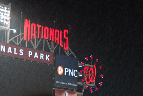A Rainy Night at the Ballpark
