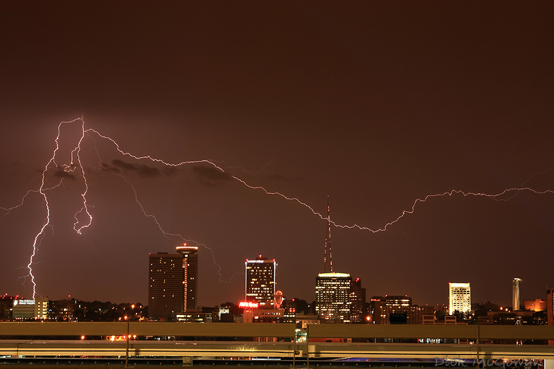 Downtown Kansas City Lightning