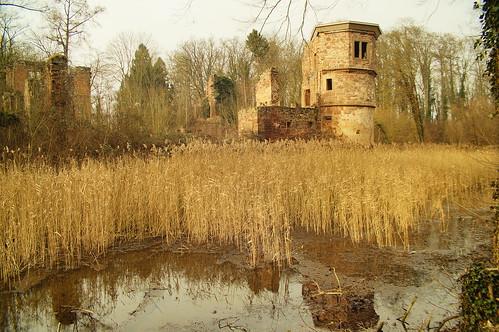 Moated Castle Menzingen - North Tower / Wasserschloss Menzingen - Nordturm