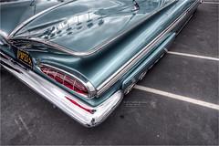 1959 chevy impala (pixel fixel) Tags: 1959 chevrolet harborknightssocal hitathon impala jfkhighschool lapalma taillights turquoise