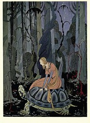 Old French Fairy Tales 3 (phoenixxx9000) Tags: illustration vintage goldenage fairytales tanglewoodtales sterret virginiafrancessterret