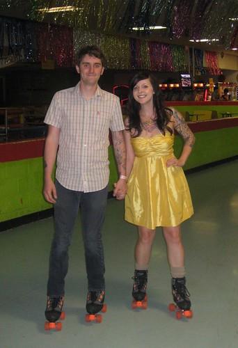 partner skate! oh yeah