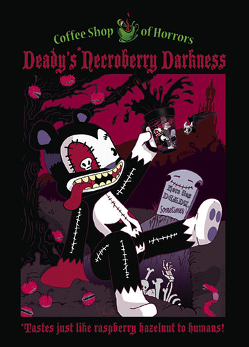 Deady Coffee Label
