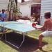 Backyard ping-pong