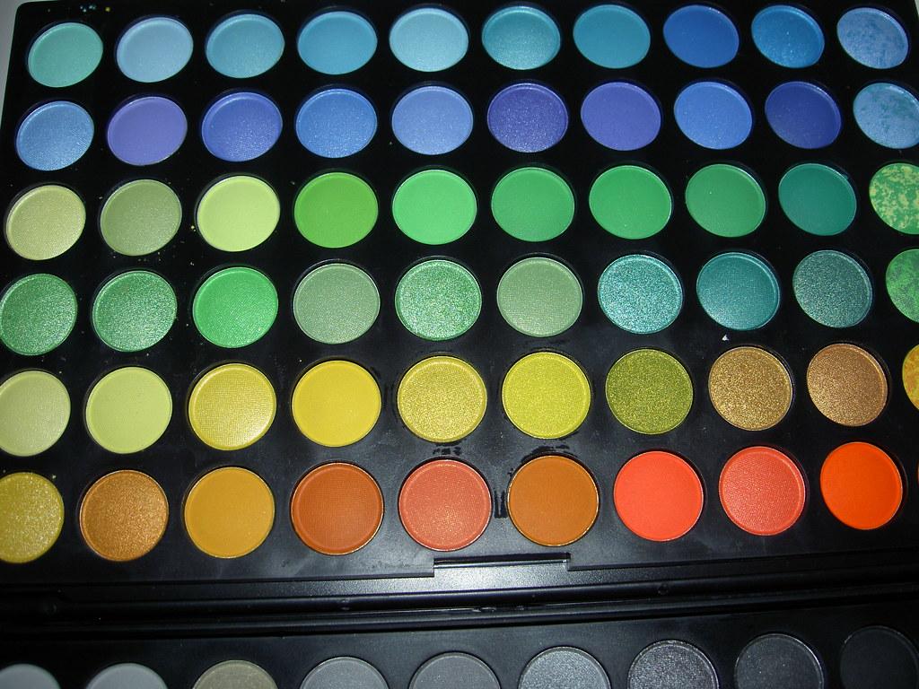MAC 120 colors Eyes Shadows Palette