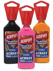 Acripuff (Acrilex) Tags: tinta acrilex tecidosesedas