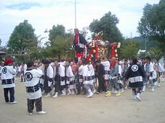 客王神社の御輿