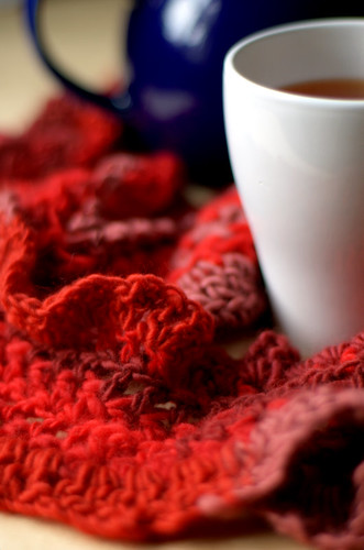 Tea and Scarf