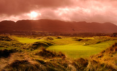 Port Salon Golf Club (gallow_chris) Tags: trip travel ireland green grass birds clouds ball golf play view magic vista nikoncapturenx chrisgallow