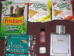 Free Samples Received in the mail October 2007