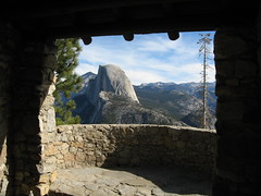 Half Dome from the Geology Hut