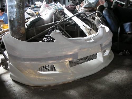 Honda City custom bumper