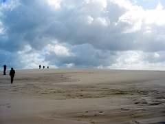 1-2-3-4-5 (kexi) Tags: blue sky clouds canon sand wind space dramatic poland balticsea baltic september coolest vast instantfave slowinskinationalpark