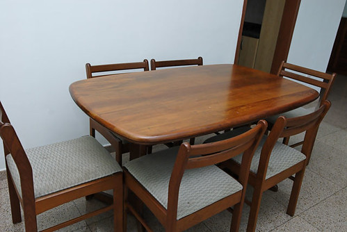 teak dining set - $100 ----> Sold