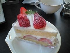西北菓子工房 イチゴショート(Strawberry Cake)