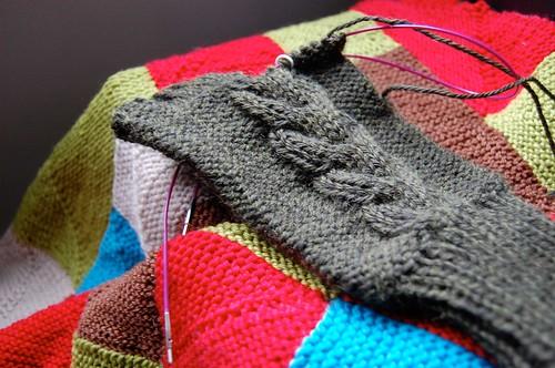 Glove & blanket