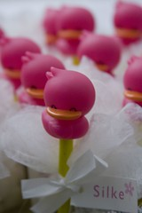 Duckies (Pieter D) Tags: pink red cute duck rubber duckies silke pieterd aplusphoto top20pink top20everlasting