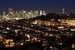 Population 774,041 (A Sutanto) Tags: sf sanfrancisco california ca city longexposure usa beautiful skyline architecture night america buildings hospital lights twilight construction downtown view smoke hill scenic bernalheights potrerohill generalhospital millenniumtower earthnight platinumphoto impressedbeauty aplusphoto onerincon dontforgettotagyourpicwithearthnight