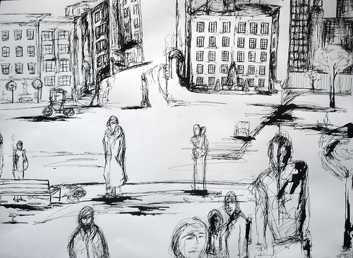 CITY scribbles - neighborhood - 05 -