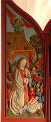 Filsum, Ostfriesland, Pauluskirche, altar, detail (groenling) Tags: christmas xmas ass angel maria mary jesus birth ox altar ostfriesland engel nativity esel ochs geburt pauluskirche nativitas filsum