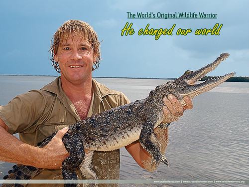 Steve Irwin Tribute from Australia Zoo website