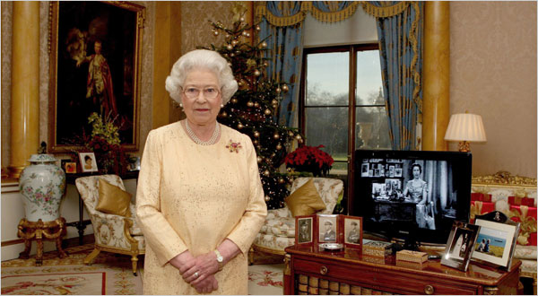 Her Majesty 50th Televised Christmas Broadcast, 2007