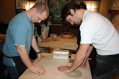 IMG_4350.JPG (drapelyk) Tags: friends me japan osaka makingsoba sobarestaurant sobaclass