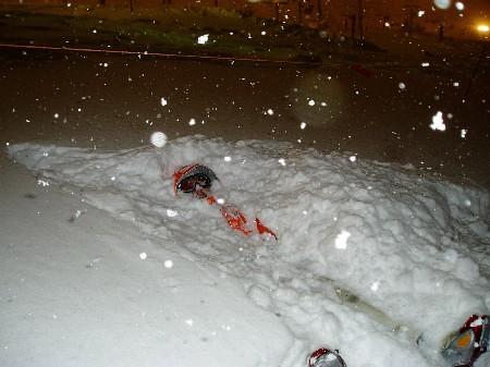Snow Diving @ Naeba Ski Resort