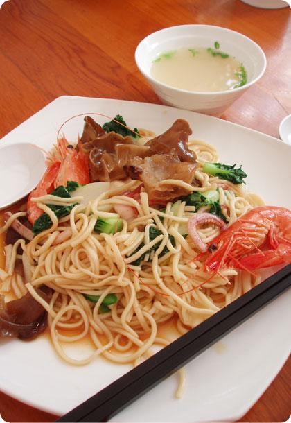 Seafood La Mian