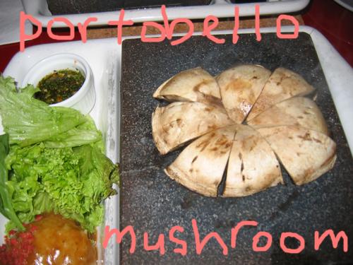 stonegrill mushroom