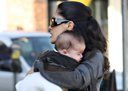 First public pics of Salma Hayek and baby Valentina! 1/1 by emmisflickr