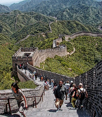 Great Wall Fantastic.... (iceman9294) Tags: china beijing greatwall chriscoleman greatwallofchina mywinners platinumphoto travelerphotos iceman9294