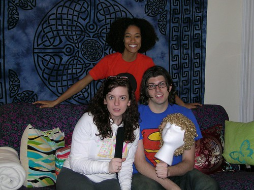Sara Benincasa, Abbi Crutchfield and Luke Thayer