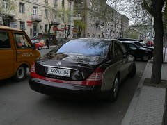 Maybach 57s in Tumanyan Street , Yerevan (Alexanyan) Tags: auto street car germany automobile carriage stuttgart engine center german ag armenia vehicle karl chrysler yerevan manufactured daimler v12 maybach daimlerchrysler autocar armenien 57s gmbh hayastan hayasdan motorenbau tumanyan