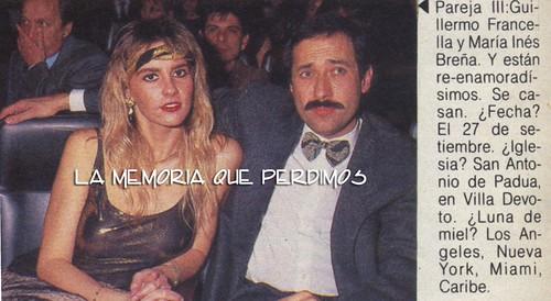 francella y sra 1989