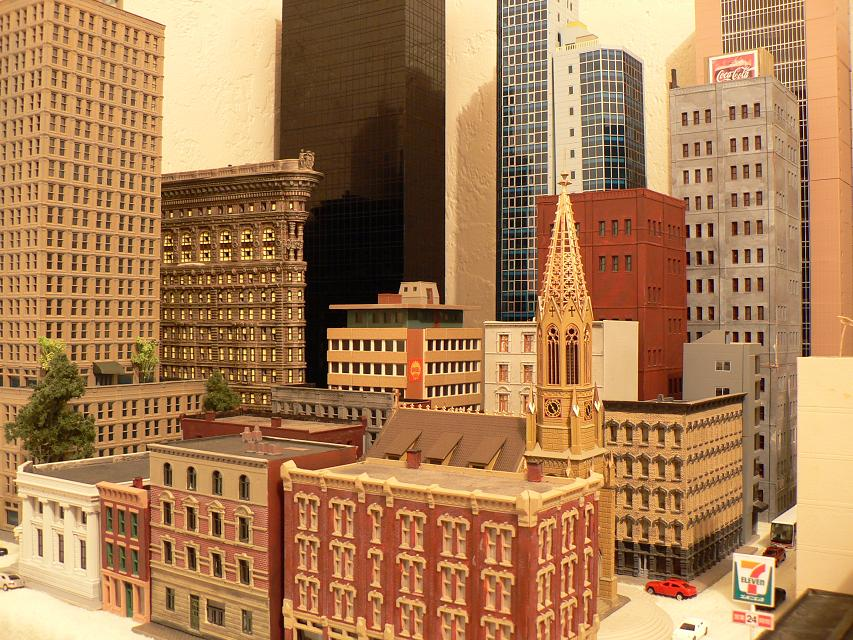 My latest N scale city model I built [Archive] - SkyscraperPage Forum