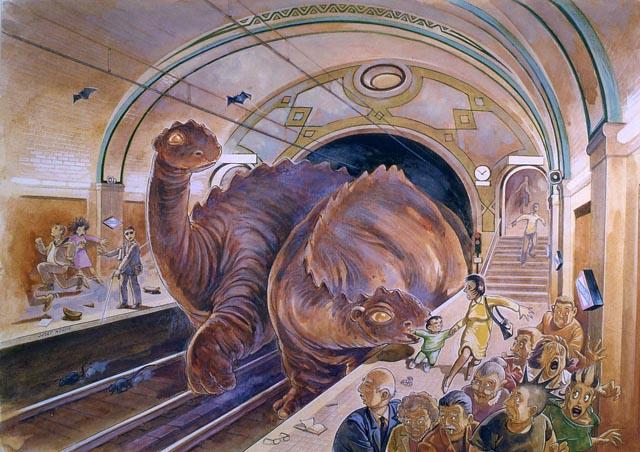 Dracs al metro