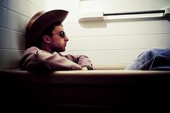 Wrangler (TerryJohnston) Tags: bath cowboy magic working wranglers joe jeans tub bathtub process cowboyup giddyup pimpd pimpmypixels hardlinejoe cowboyintubprocess