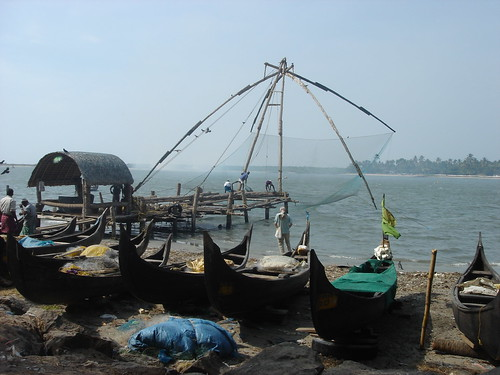 chinese fishing nets of cochi