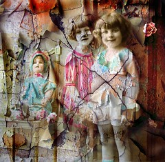 Mixed Media Altered Art - Collage (collage a day) Tags: art collage digitalart alteredart vintagephoto vintagedoll mixedmediaart