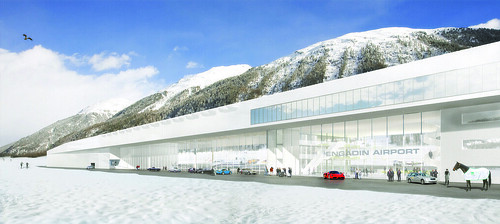 Engadin Airport, St. Moritz - Samedan © HOSOYA SCHAEFER Architects