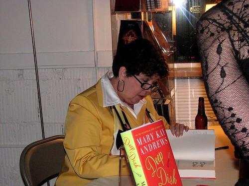 Mary Kay Andrews book fan photo